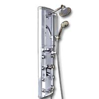 Zen Brand New 72 PSI Aluminum Shower Panel Rain Style Massage System