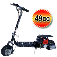 49cc Dirt Dog 2-Stroke Gas Scooter