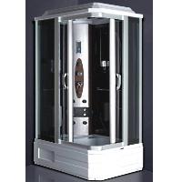 Shower Enclosure w/ FM Radio Digital Control Panel & Massage Jets
