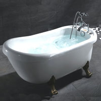 Whisper Ariel BT-062 Whirlpool Jetted Bath Tub