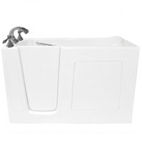 """60"""" Whisper Brand New Jetted Dual Air System Walk In Tub"""
