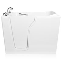 "55"" Whisper Brand New Jetted Dual Air System Walk In Tub"