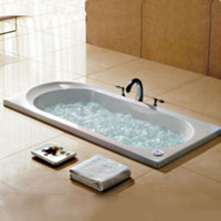 Whisper Royal A1607 Drop-In Bathtub With Air Jets