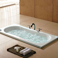 Whisper Royal A1609 Drop-In Bathtub With Air Jets