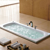 Whisper Royal A1611 Drop-In Bathtub With Massaging Jets