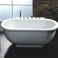 Whisper Ariel AM128 Jetted Whirlpool Bathtub