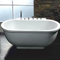 Whisper Ariel AM128 Jetted Whirlpool Bathtub