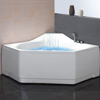 Whisper Brand New Waterfall Whirlpool  Jetted Bathtub