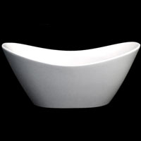 Whisper Brand New Luxurious Double Slipper Tub Acrylic Bathtub