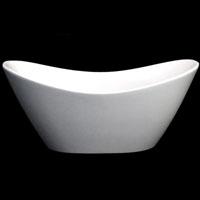 Whisper Brand New Luxurious Double Slipper Tub Acrylic Bathtub