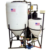 80 Gallon Elite Biodiesel Processor with Steel Plumbing and Double Dry Wash Assembly