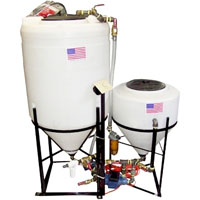 80 Gallon Elite Biodiesel Processor with Steel Plumbing - Make Fuel from Vegetable Oil