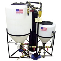 40 Gallon Elite Biodiesel Processor with Steel Plumbing and Dry Wash Assembly