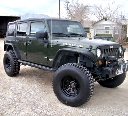 Hummer Military Jeep Wrangler 37x12 50r16 5 Goodyear Mt Tires 70