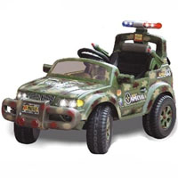 Brand New Army SUV Power Wheel