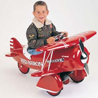 Brand New Red Baron Pedal Bi-Plane