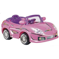 Brand New Pink BENz Power Car
