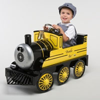 Brand New Bumble Bee Metal Pedal Train