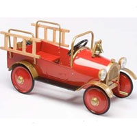 Brand New Fire Engine Pedal Car