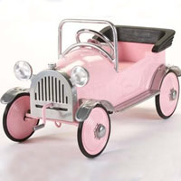 Brand New Pretty Pink Princess Pedal Car