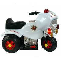 Kids Motorized Police Cycle