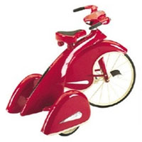 Brand New Red 1936 Sky King Trike