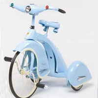 Brand New Blue 1936 Sky King Tricycle
