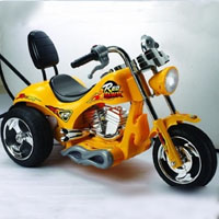 3 wheel chopper
