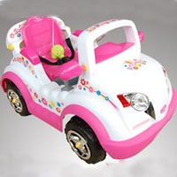 High Quality Pink Electric Car Ride with Remote