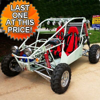 800cc Warrior Go Kart - Street Legal Capable!