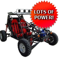 800cc Super Warrior Extreme Go Kart - Street Legal Capable!