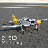 P-51D Mustang Airplane