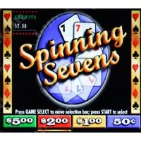 Spinning 7s Video Pull Tab