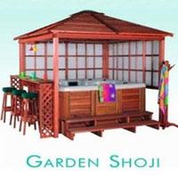 Garden Shoji Gazebo