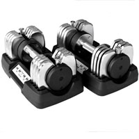 Brand New 2- 50 lb Adjustable Dumbbells