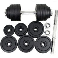 High Quality Adjustable Dumbbell Set - 200 Lbs Total Weight