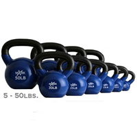 5 lb Vinyl Coated Kettle Bell