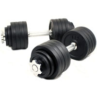High Quality Adjustable Dumbbell Set - 105 Lbs Total Weight