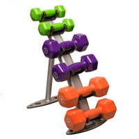 Vinyl Dumbell Rack