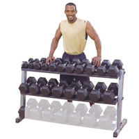 Body-Solid Pro Dumbbell Rack