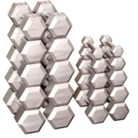 Hex Dumbbell Weight Set — 5 to 50 Lbs.