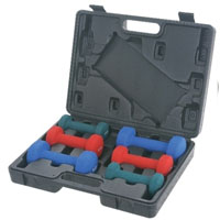 2, 3 & 5 lb Neoprene Dumbbell Set