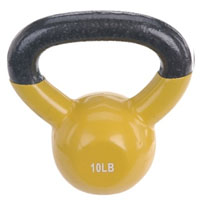 10 lb Vinyl Coated Kettle Bell
