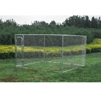 Dog Kennel 10' x 10' x 6' Box Kennel Chain Link Dog / Pet System