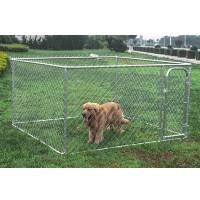 Dog Kennel 7 1/2' x 7 1/2' x 4' Box Kennel Chain Link Dog / Pet System