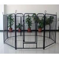 "Pet Playpen Black 8 Panel 40"" Heavy Duty Dog Exercise Pen Cat Fence"
