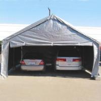 Grey 20' x 20' Heavy Duty Outdoor Canopy Carport