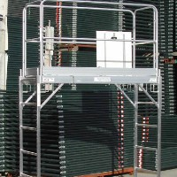 Brand New Heavy Duty 6' Aluminum Scaffold Rolling Tower