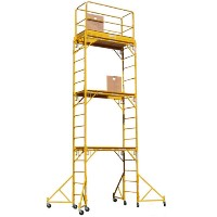Brand New Heavy Duty 17' H Scaffold Rolling Tower