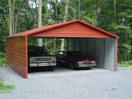 18 39 X 26 39 X 8 39 Boxed Eave Eco Friendly Steel Carport W